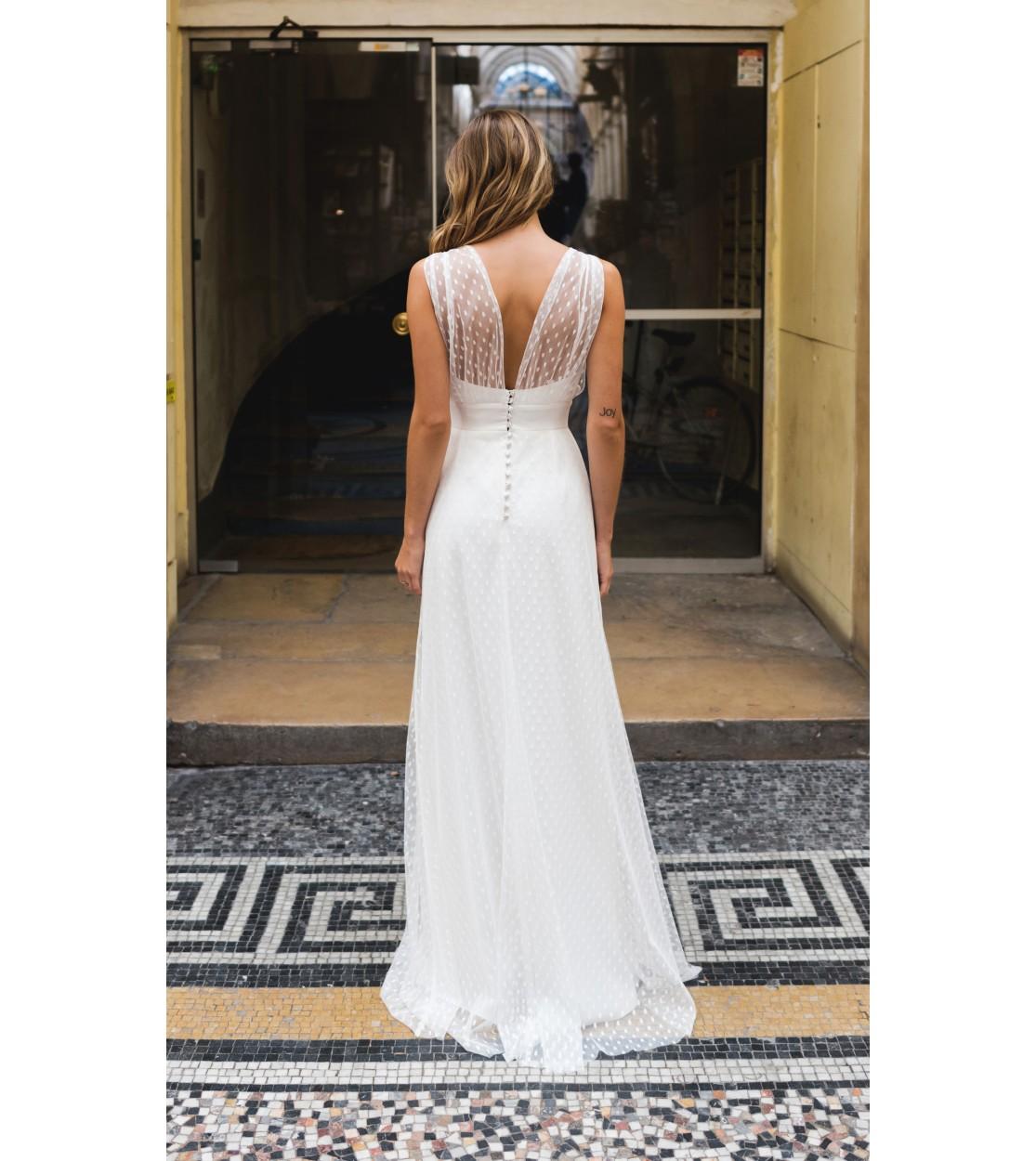 hot-vente authentique la meilleure attitude pas mal Robe de mariée Athena - Harpe Paris