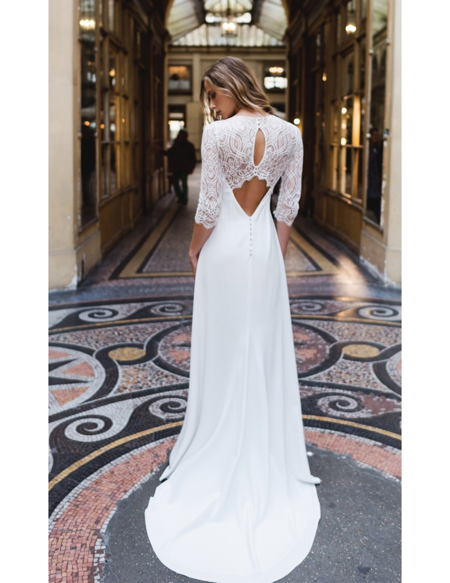 Robe de mariée Lalique - Harpe Paris