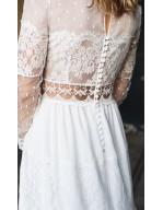 Robe de mariée Folk