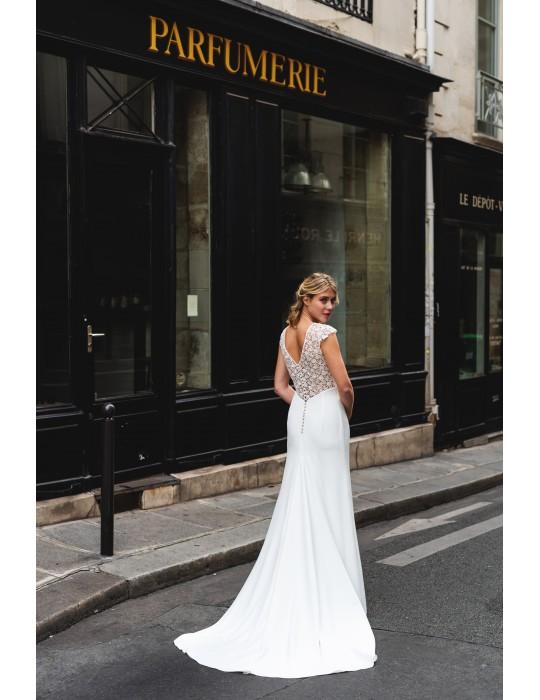 La robe de mariée Florette