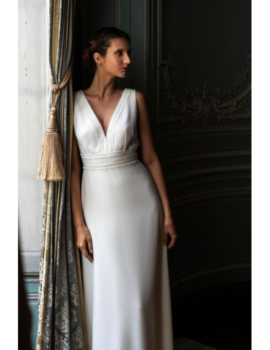 The wedding dress Olympe