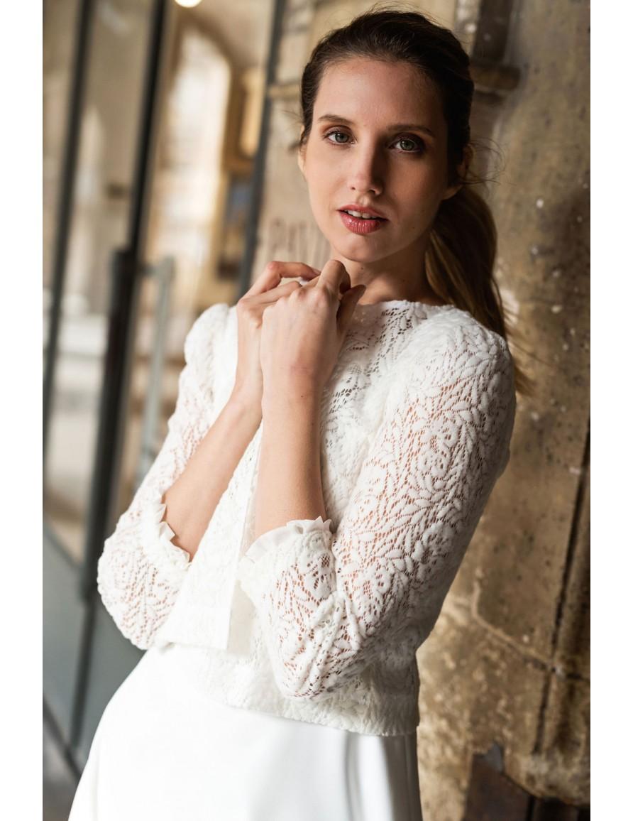 La gilet de la mariée